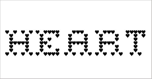 Heart Sweet Heart Font